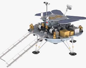 Tianwen Mars probe exploration 3D