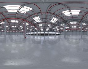 3D asset HDRI - Industrial Warehouse Interior 8