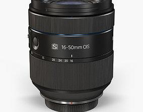 Samsung 16-50mm F 2-2-8 S ED OIS Lens 3D model