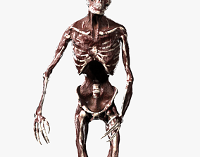 3D asset realtime Zombie Rigged