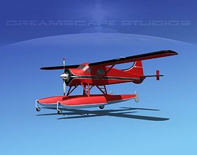 3D Dehavilland DHC-2 Beaver V02