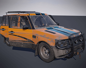 Offroad vehicle 3D model