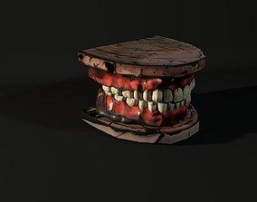 mouth 3D model Toon Teeth