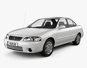 3D model Nissan Sentra GXE 2001