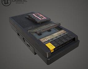Vintage Cassette Player realtime