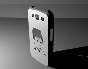 Samsung Galaxy S3 Audrey Hepburn case 3D print model