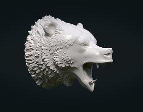 3D printable model Bear head beast