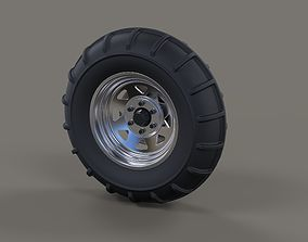 3D Front wheel from Dirt dragster