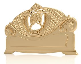 Bed Ornament Frame 6 - For CNC and Interior 3D