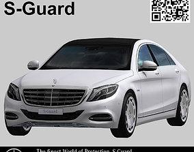 Mercedes Benz S-Guard 3D asset