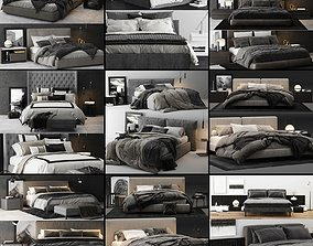 rug Bed Colection 02 - 10 Items 3D model