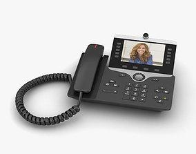 Cisco IP Phone 8865 3D model