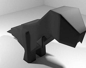 3D Origami - Dinosaur
