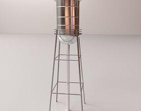 Water Tower 3D model tower