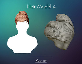 Hairstyle model 04