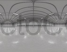 HDRI - Warehouse Interior 9 3D asset