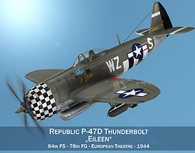 3D Republic P-47D Thunderbolt - Eileen