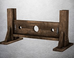 3D asset Torture model 07 - Pillory