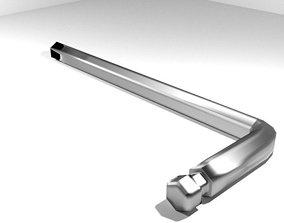 3D Mechanical Handtools - Allen Wrench
