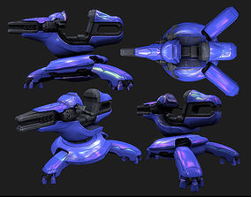 Shade Turret 3D model