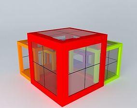 3D model show pavilion
