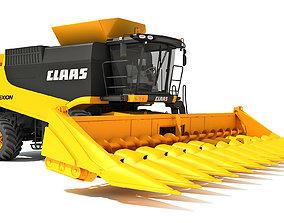 Claas Combine 3D