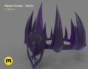 3D print model Raven Crown - Smite