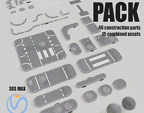 3D Road Asset Pack collection