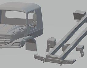 Mercedes Zetros Printable Truck