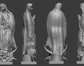 OUR LADY OF GUADALUPE statue 3D printable model