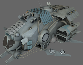 3D asset realtime Fighter MS