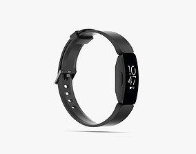 Fitbit Inspire HR 3D model