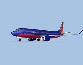 Boeing 737-800 Max Southwest 3D