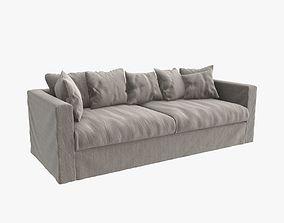 Decotique le grand three seat air sofa 3D model