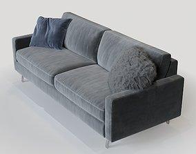 3D model Mitchell Gold Hunter Studio Sofa