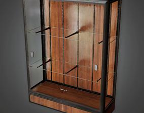 3D model Trophy Case - CLA - PBR Game Ready