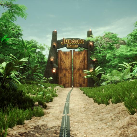 Jurassic Park Main Gate