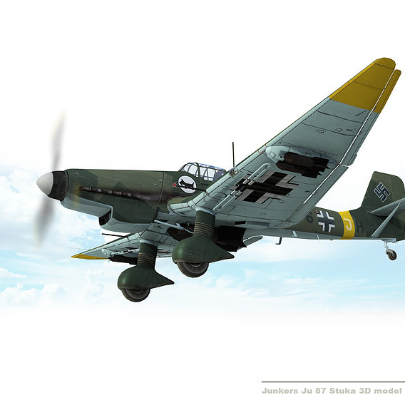 Junkers Ju-87 Dive Bomber