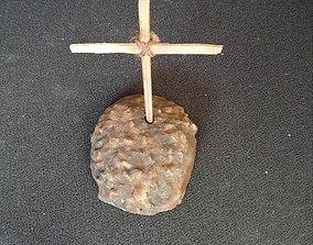mound tomb cross 3D printable model