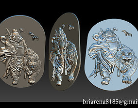 3D print model ZHONG KUI Asian Mythology