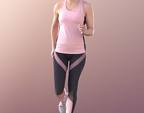 Juliette 10820 - Running Girl 3D asset