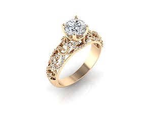 3D print model Ring 43 engagement