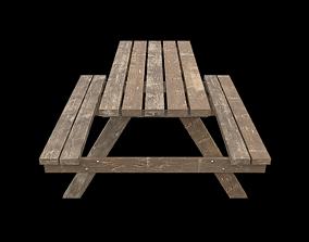 3D asset PicnicBench01