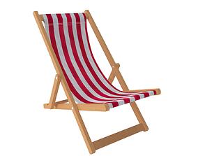 Deck Chair 3D summer