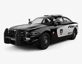 Dodge Charger Pursuit 2015 3D