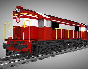 3D model realtime Train India