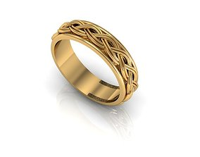 Braided ring 1 3D printable model