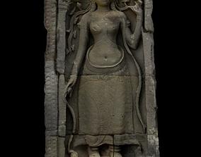 Stone Sculpt Woman 3D model