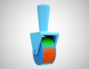 3D printable model Animal Roller Stamp