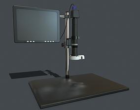 3D asset Microscope PBR